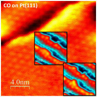Structural evolution of bimetallic nanocluster catalysts at atomic scale