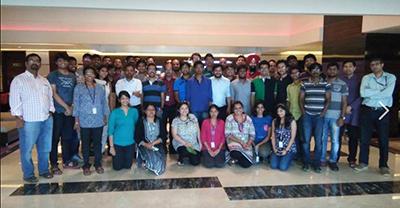2016 IBM intern group photo