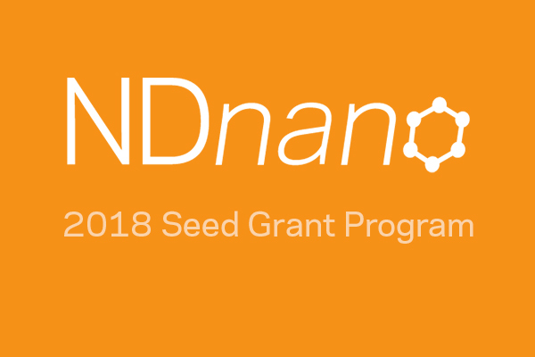NDnano announces 2018 Seed Grant Program recipients
