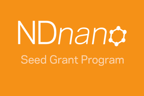 NDnano offers collaborative seed grants; proposal deadline is May 31