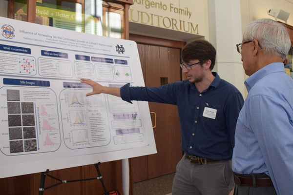 Students to showcase a broad range of research projects during the annual Summer Undergraduate Research Symposium